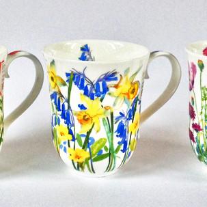 Cottage Flowers Mugs
