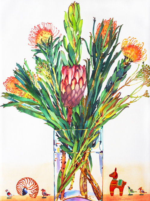 Proteus Still Life - limited edition giclee print