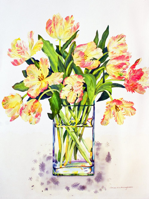 Libretto Tulips - limited edition giclee print