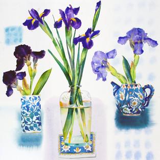 Three Irises