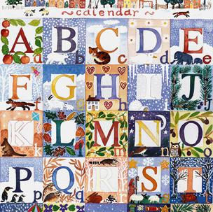 Alphabet Advent Calendar