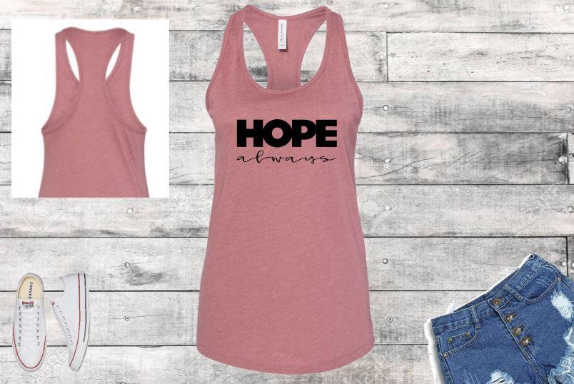 Hope Always Women's Racerback Tank
