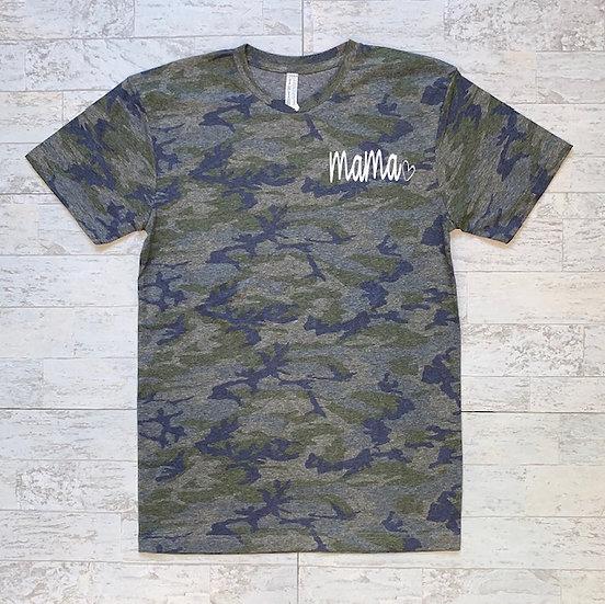 Mama Camo Women's T Shirt