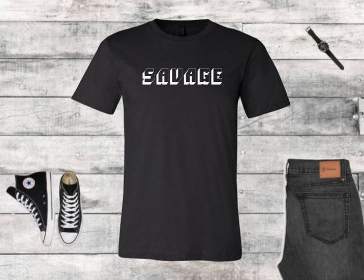 Savage 3D Male T-Shirt