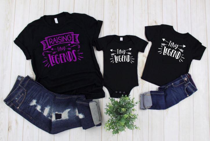 Raising Tiny Legends Mom & Me Shirts