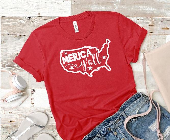 Merica Yall Women's T-Shirt