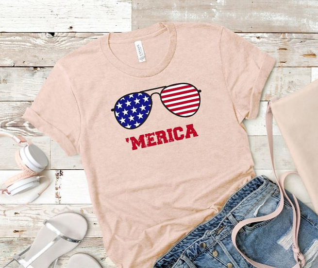 Merica Shades Women's T-Shirt