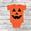 Thumbnail: Pumpkin Face - Childs Onesie &  T-Shirt