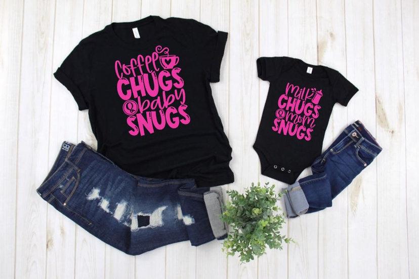 Chugs and Snugs Matching Shirts