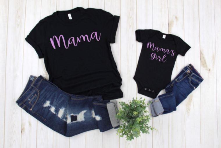 Mama & Mama's Girl Matching Shirts