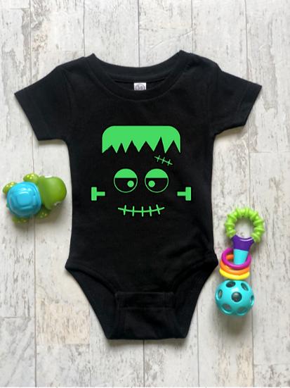 Baby Frankenstein - Childs Onsie &T-Shirt
