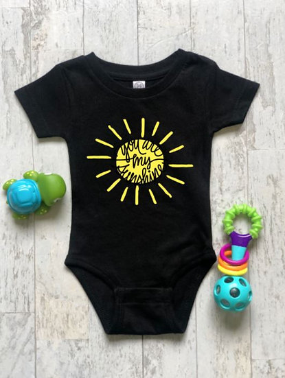 You Are My Sunshine Onsies & Kids T-Shirt