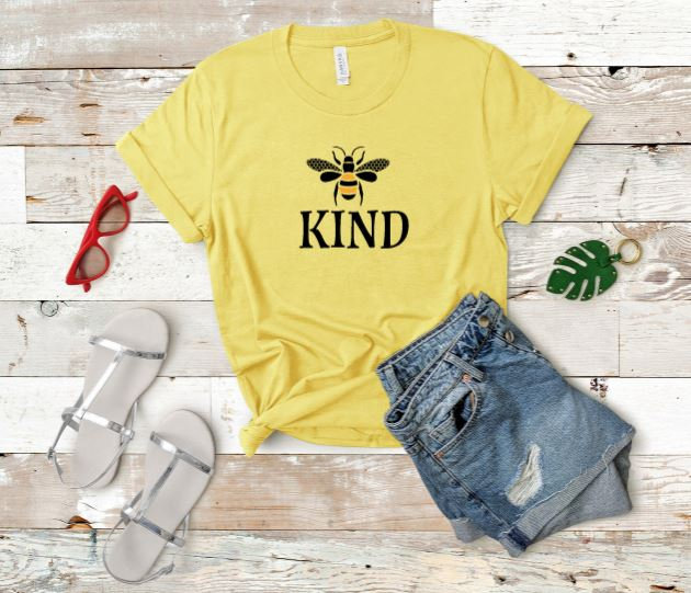 Bee Kind Womans T-Shirt