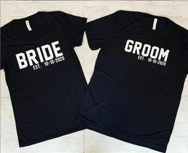 Bride/Groom Soft Style T-Shirt