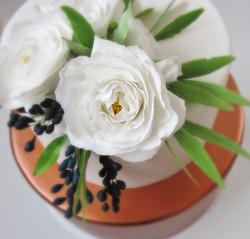 Copper & Sugar Flowers