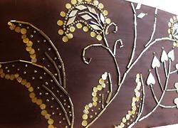 Embroidered Wedding Cake