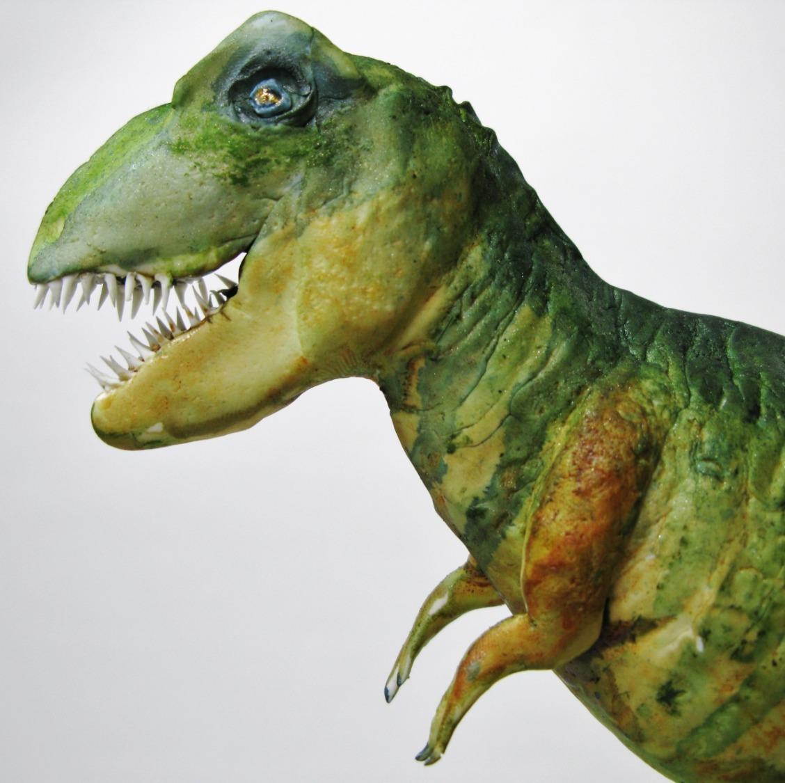 Allosaurus Dinosaur Cake