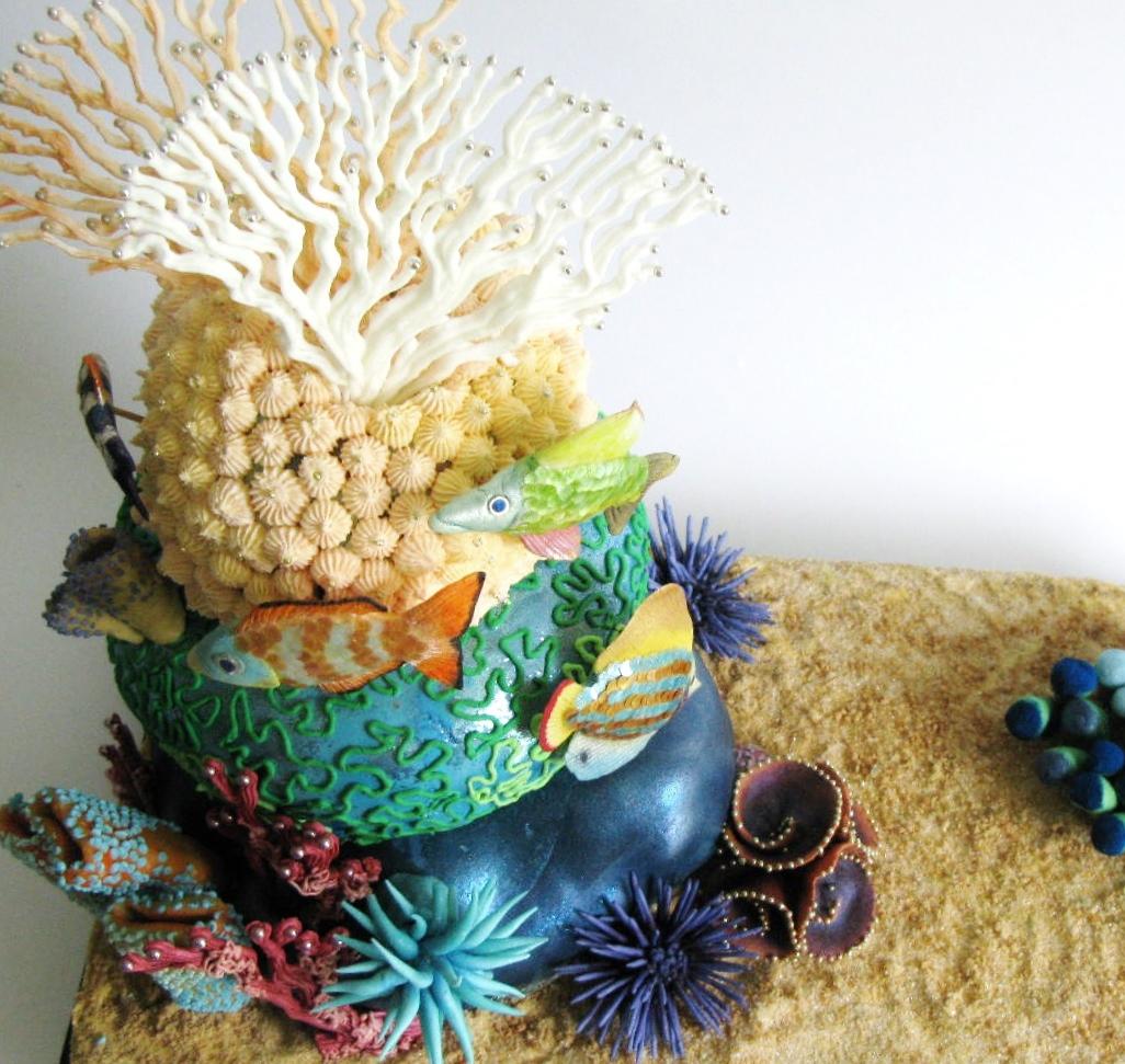 Prime Aquarium Cake The Cake Cabinet Funny Birthday Cards Online Necthendildamsfinfo