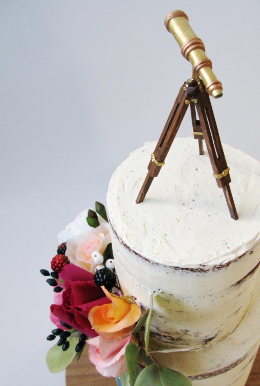 Stargazer Cake.