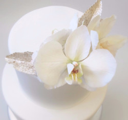 Sugar Orchids & Silver Sequins