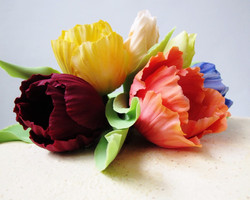 Sugar Tulips and Buttercream