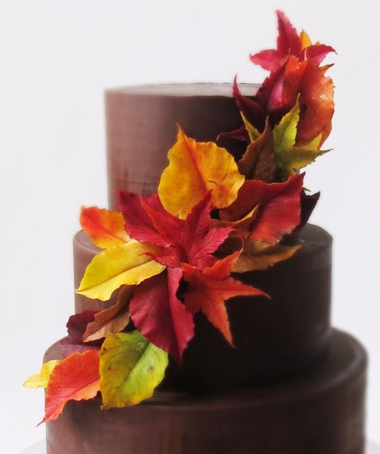 Autumn Leaf Sash