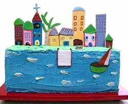 Boardwalk Cake