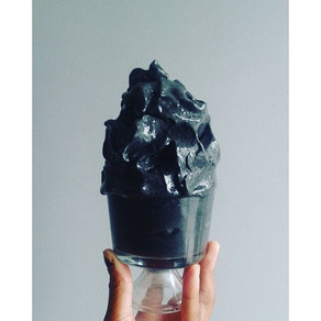 Raw Vegan OBSIDIAN MINT Nice Cream