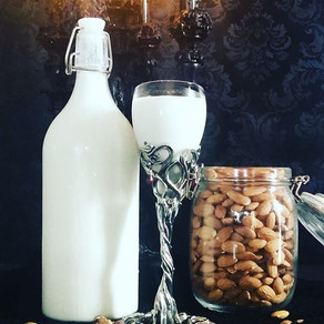 Spiced Almond Hazelnut Mylk
