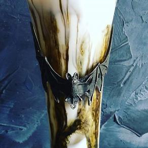 Black SxS Cardamom Espresso Latte over Ice w/ Cashew Mylk