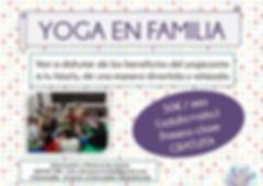 Yoga en familia Madrid-Majadahonda
