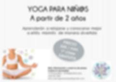 Yoga infantil para nños en Madrid-Majadahonda