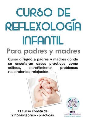 Curso de Reflexología Infantil Madrid-Majadahonda
