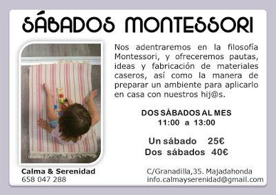 Taller material Montessori DIY