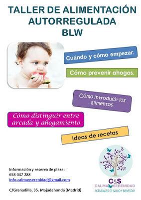 Taller e alimentación complementario BLW Madrid-Majadahonda