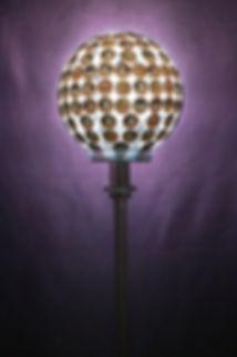 Bystander (light bulb, eyes, metal stand