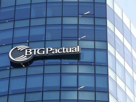 BTG Pactual precifica follow on em R$ 122,01 por unit