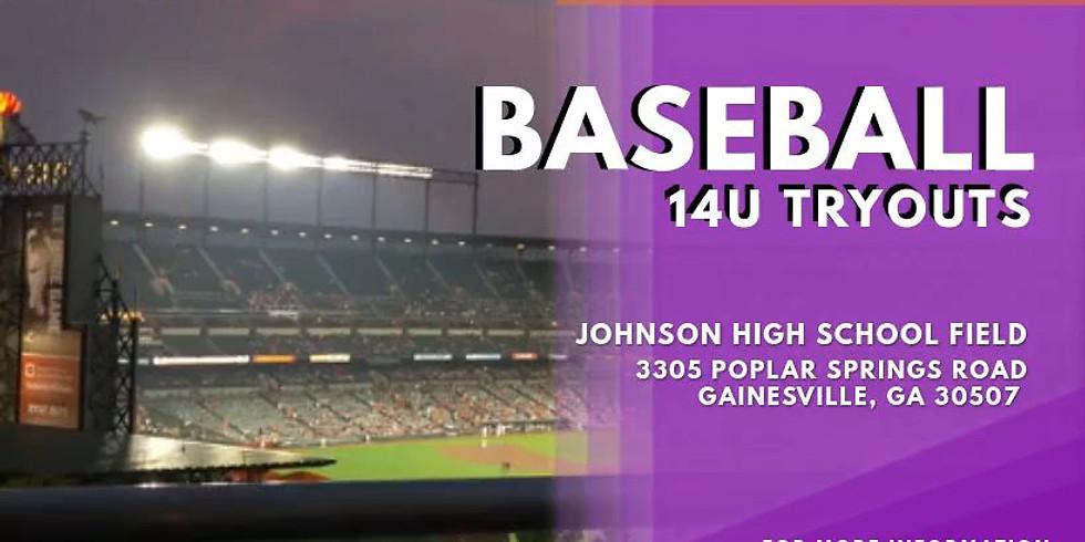 14U Baseball Tryouts