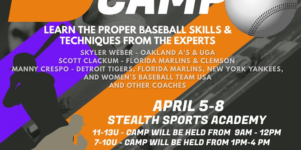 2021 7-10U Spring Break Camp