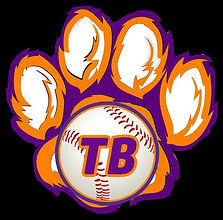Tiger Baseball New Logo - Logo Only - Bl