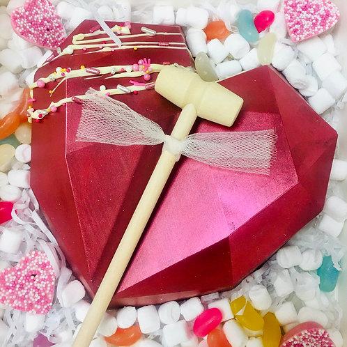 Valentines Smash hearts
