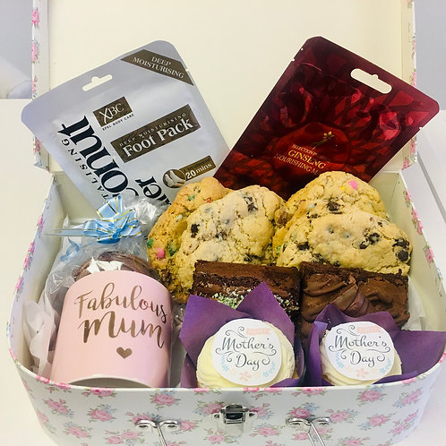 Large Mother's Day pamper treat box