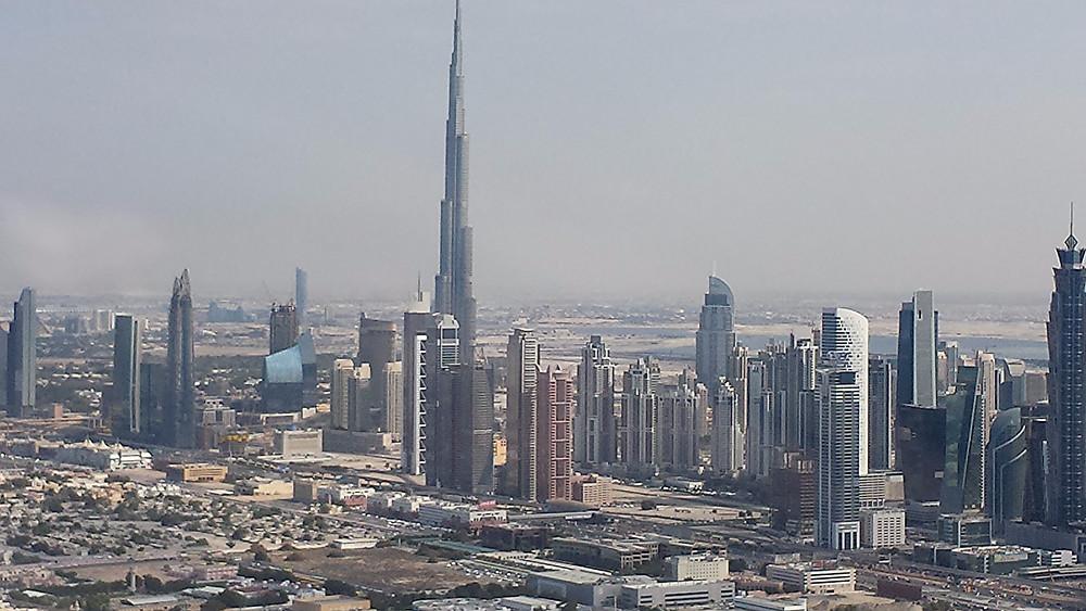 Dubai, desde el helicoptero