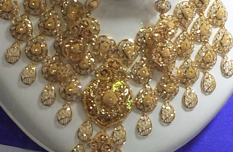 Collar, zoco del oro. Dubai