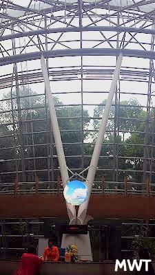 LLegando al KLIA - aeropuerto de Kuala Lumpur