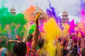 HOLI el Festival de los colores! En India