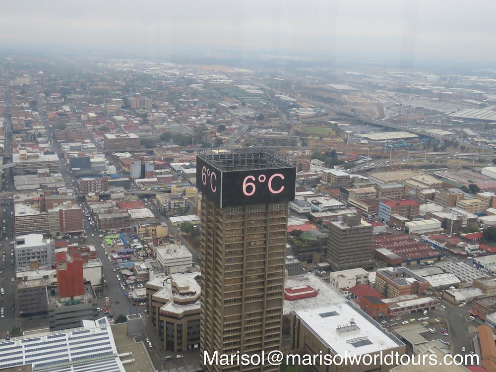 Vista desde el mirador : Top of Africa