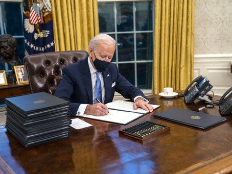 Biden's First Day in Office, Amazon's 465 million pounds of waste and shifting global rain patterns