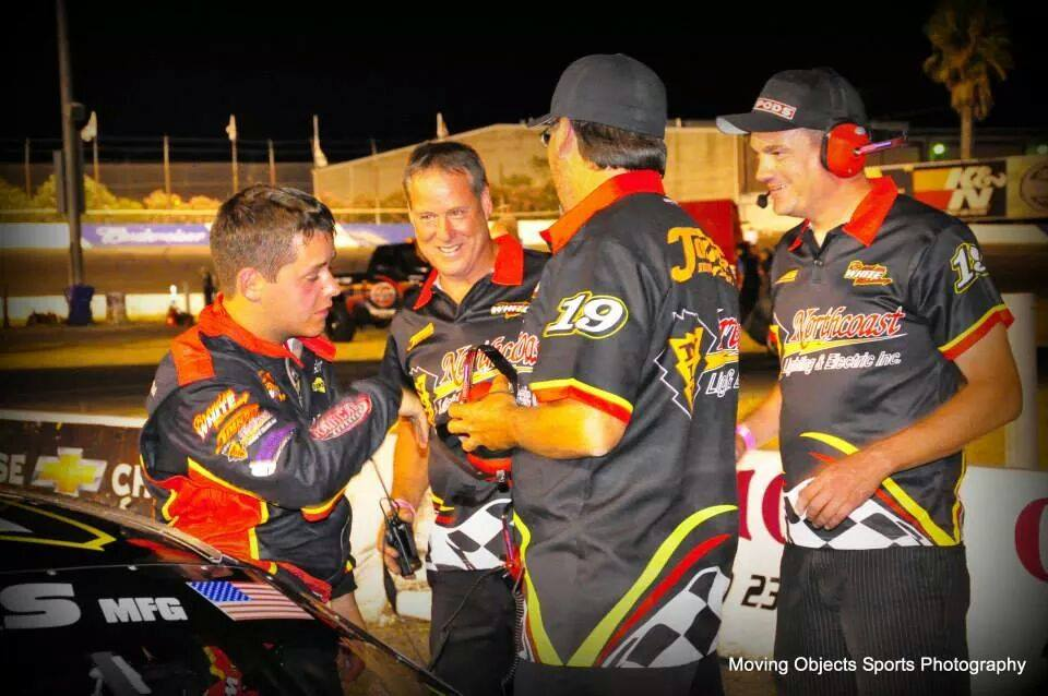 Brandon White Racing Crew