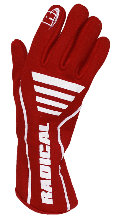 Vortex Gloves - Red